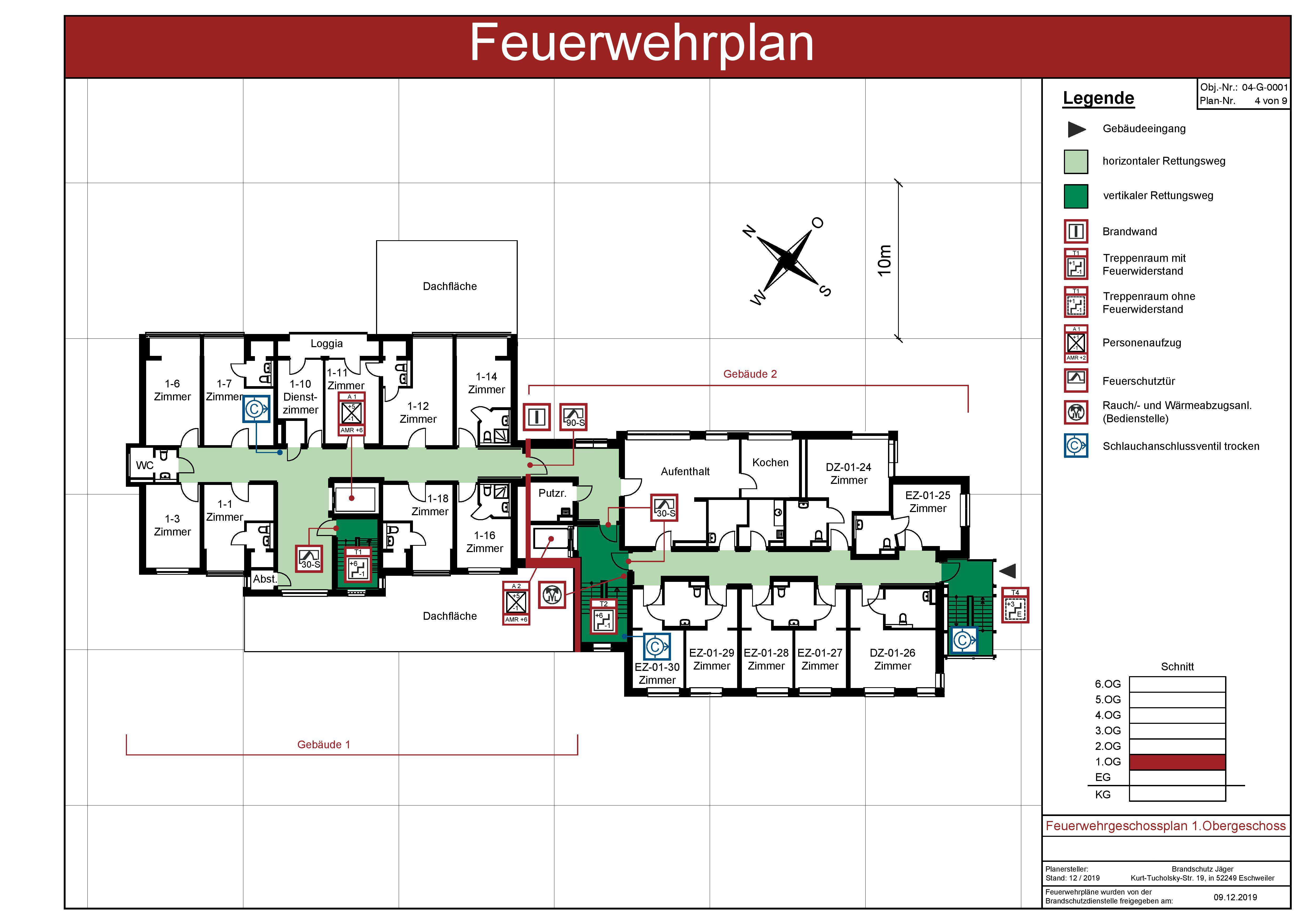 Feuerwehrplane Nach Din 14095 In Nrw Und Rlp 0